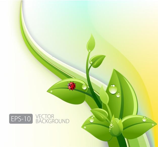 Streszczenie tło ekologii