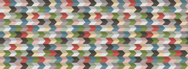 Streszczenie tło geometryczne, efekt 3d, kolory retro