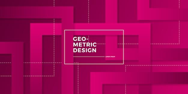 Streszczenie tło geometryczne gradientu