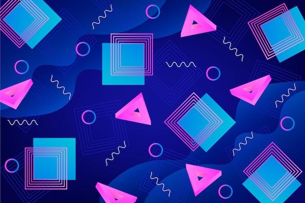 Streszczenie tło geometryczne kształty