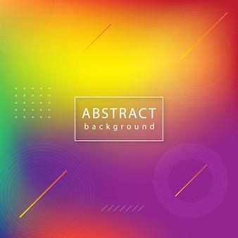 Streszczenie tło geometryczne. nowoczesny wektor mix kolorów