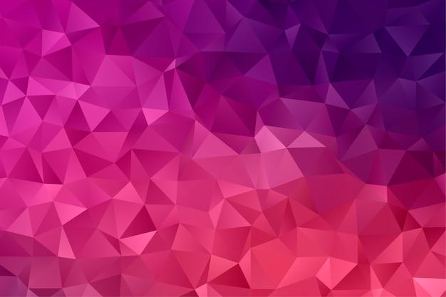 Streszczenie tło geometryczne wielokąta. kolorowe tło low poly.