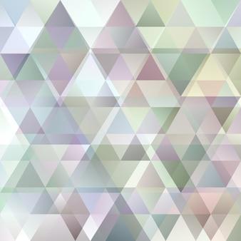 Streszczenie tło gradientowe regularne trójkąt