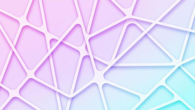 Streszczenie tło gradientowe z liniami