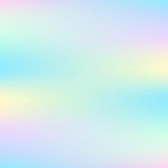Streszczenie tło holograficzne w pastelowych kolorach