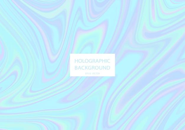 Streszczenie tło holograficzne w pastelowych kolorach.