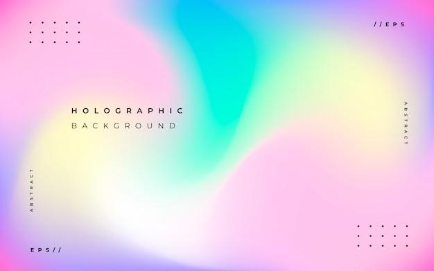 Streszczenie tło holograficzne