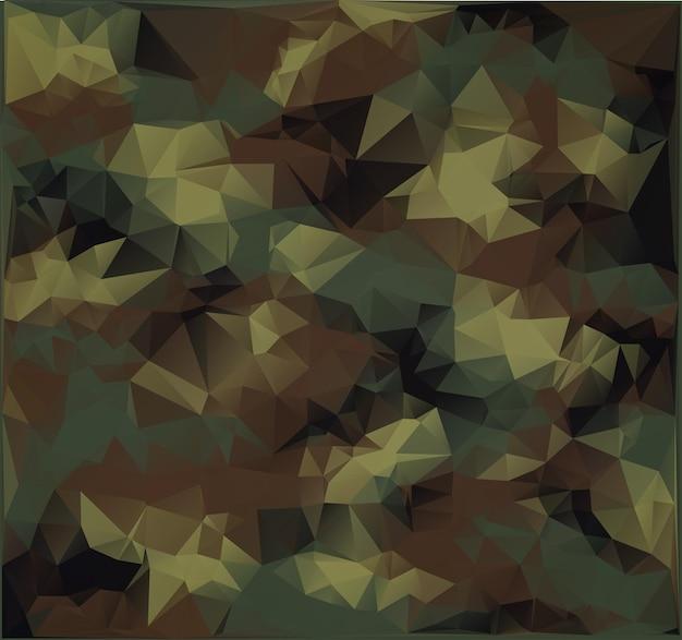 Streszczenie tło kamuflażu wojskowego. styl wielokąta.