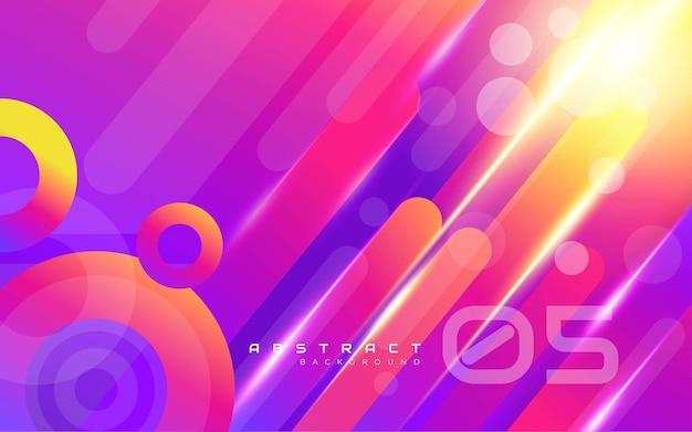 Streszczenie tło kolorowe kształty