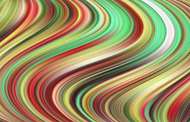 Streszczenie tło kreatywność projekt kolorowych fal