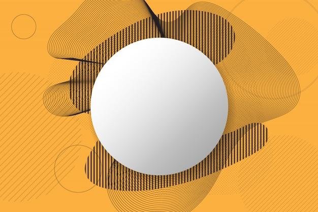 Streszczenie tło kształty geometryczne