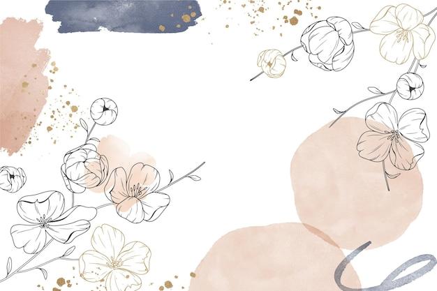 Streszczenie tło kwiatowy