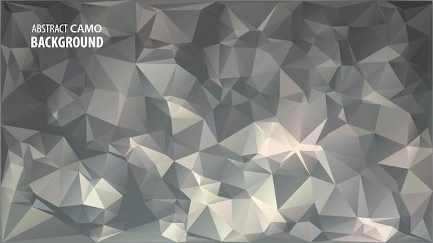 Streszczenie tło low poly wykonane z geometrycznych kształtów trójkątów.