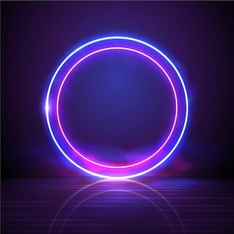 Streszczenie tło neon