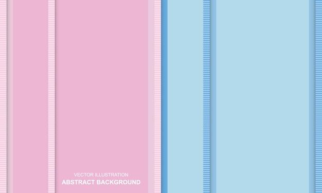 Streszczenie tło niebieski i różowy kolor słodki