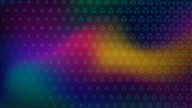 Streszczenie tło półtonów małych symbolison kolorowych plam