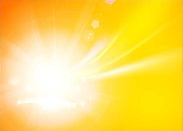 Streszczenie tło pomarańczowe fale