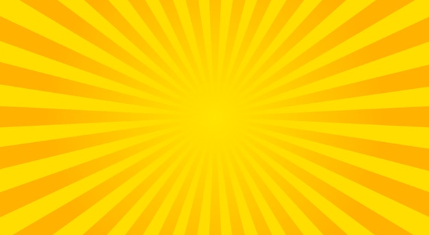 Streszczenie tło promienie słoneczne - ilustracji wektorowych.