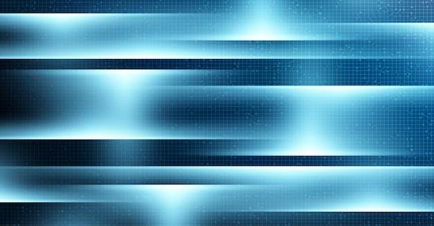 Streszczenie tło refleksji technologii