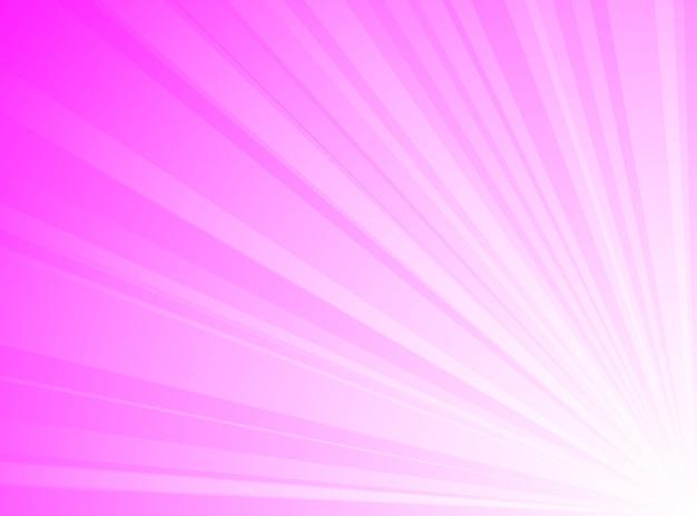 Streszczenie tło różowe i białe linie promieniowe tło