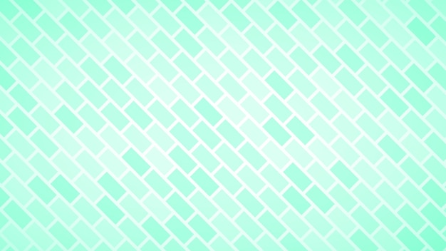 Streszczenie tło ukośnie ułożonych prostokątów w turkusowych kolorach