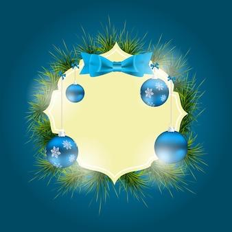 Streszczenie tło uroda boże narodzenie i nowy rok. ilustracja wektorowa