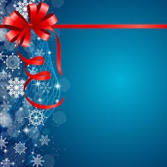 Streszczenie tło uroda boże narodzenie i nowy rok. wektor