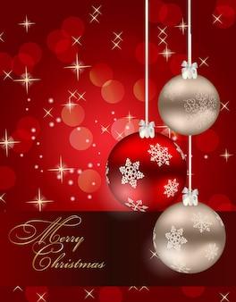 Streszczenie tło uroda boże narodzenie i nowy rok.