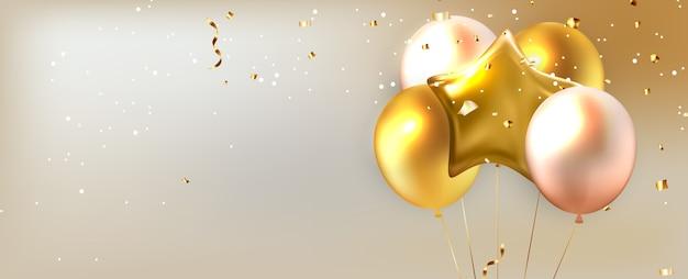 Streszczenie tło wakacje z balonów