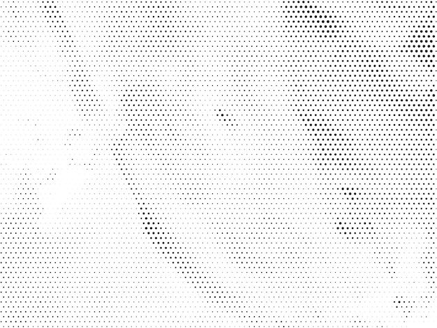 Streszczenie tło wektor wzór półtonów