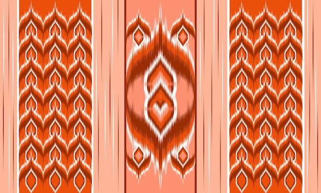 Streszczenie tło wzór chevron etniczne ikat. dywan,tapeta,odzież,zawijanie,tkanina,tkanina,styl illustration.embroidery.
