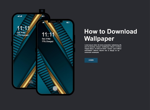 Streszczenie tło z ekranem telefonu komórkowego