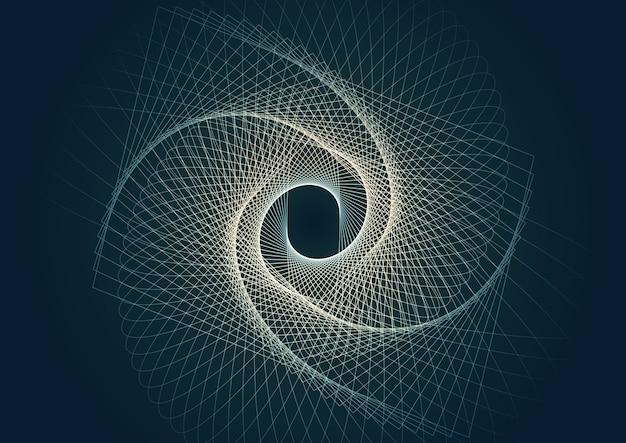 Streszczenie tło z nowoczesnym wzornictwem linii