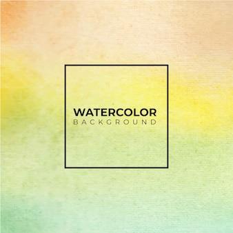 Streszczenie tło zielony akwarela, farby ręczne. kolor rozpryskiwania się na papierze