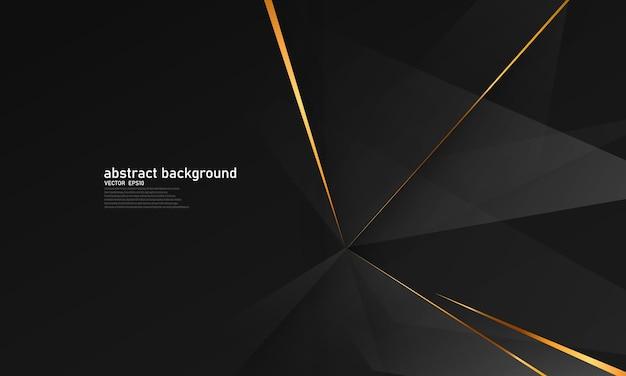 Streszczenie tło złoto czarny plakat piękno z dynamicznym luksusem vip.
