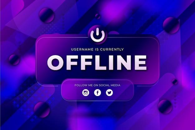 Streszczenie transparent drgania offline