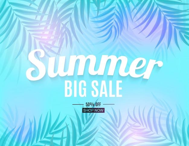 Streszczenie transparent lato sprzedaż