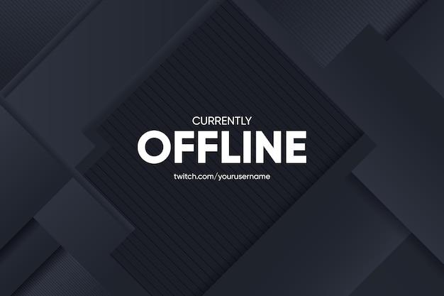 Streszczenie transparent offline drgania