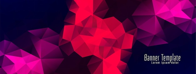 Streszczenie transparent projekt geometryczny wielokąt