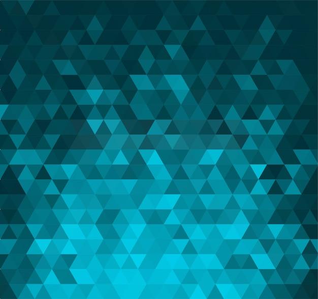 Streszczenie transparent z kształtami trójkątów