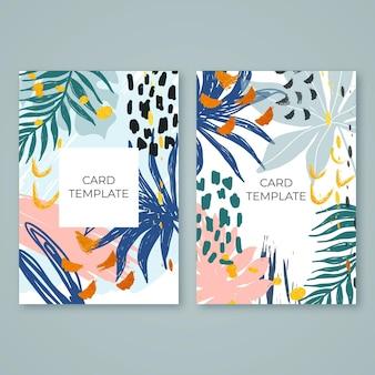 Streszczenie tropikalne karty