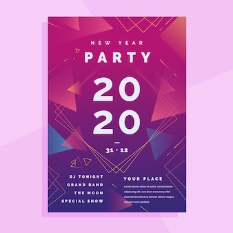 Streszczenie ulotki partii nowy rok 2020