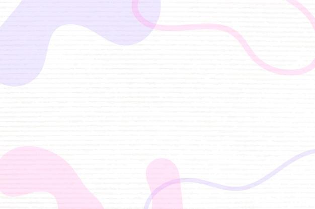 Streszczenie wektor różowy tło memphis, pastelowy kolor