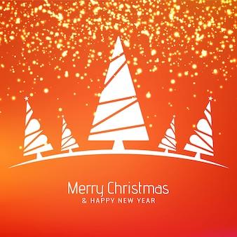 Streszczenie wesołych świąt bożego narodzenia stylowy tło