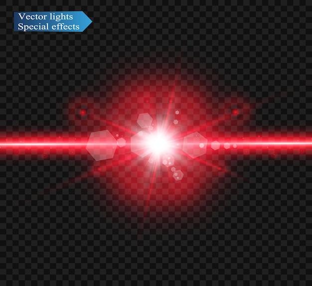 Streszczenie wiązki lasera