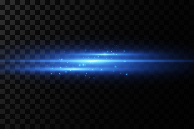Streszczenie wiązki światła laserowego. chaotyczne neonowe promienie światła.