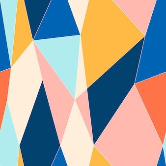 Streszczenie witraż styl wzór. wielokątny wzór low poly. ilustracja wektorowa.