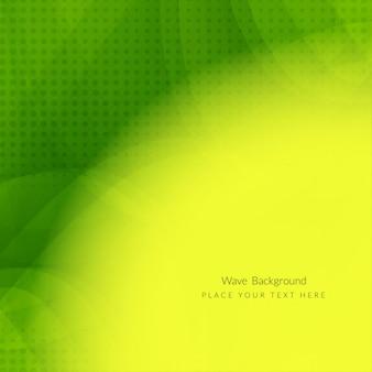 Streszczenie zielona fala nowoczesnych tle