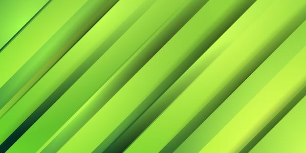 Streszczenie zielone paski gradientu tła