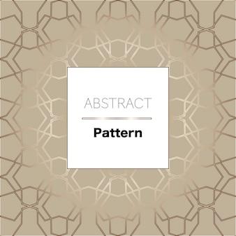 Streszczenie złoty modny geometryczny wzór